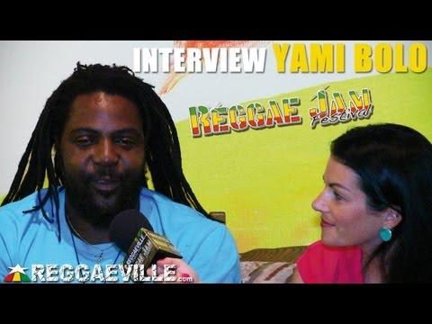 Interview with Yami Bolo @Reggae Jam 8/3/2013