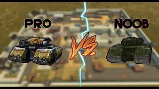 Tanki Online - Pro vs Noob