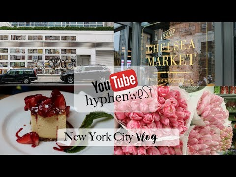 NYC Travel Vlog! Tiffany & Co, The MET, Flower District, SOHO And More!