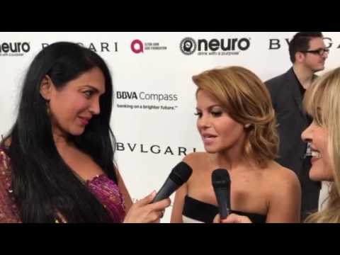 Elton John AIDS Foundation Oscar Party: Interview with Candace Cameron Bure