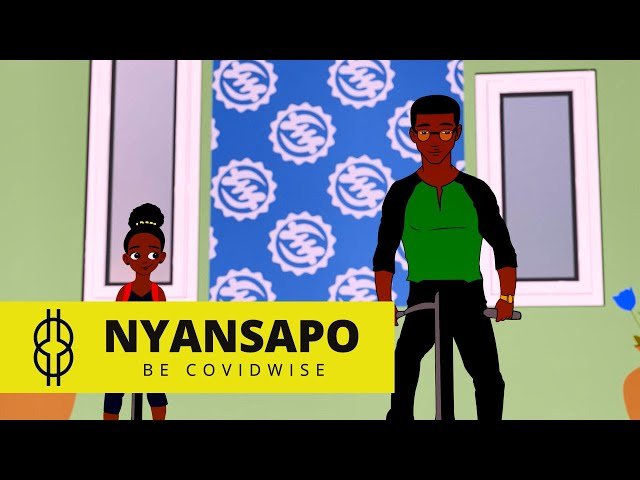 NYANSAPO - Be Covid-wise - Episode 2 | Cartoon Series