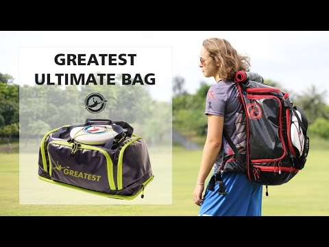 Greatest Ultimate Frisbee Bag Kickstarter Video