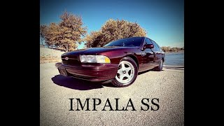 SS 1996 impala is a classic