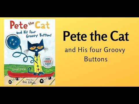 Pete The Cat Youtube Buttons