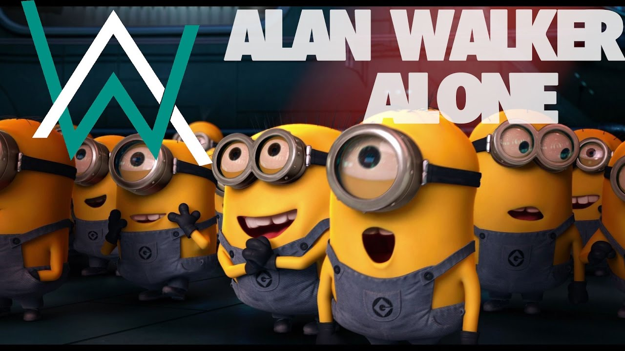Alan Walker - Alone (Minions Version) [Short Film]