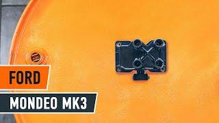 Jak vyměnit zapalovací cívka na FORD MONDEO MK3 Sedan [NÁVOD AUTODOC]