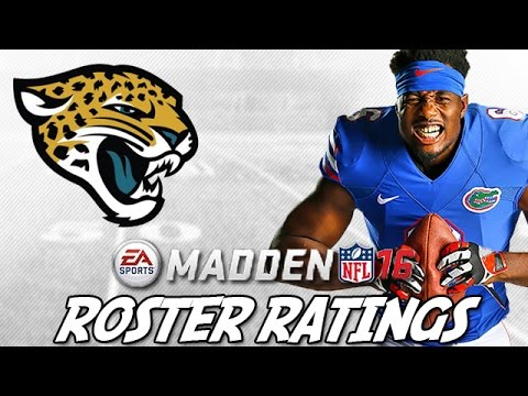 Early Madden 16 Ratings | Jaguars ft. Dante Fowler + Julius Thomas