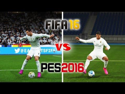 FIFA 16 vs. PES 16: Skill Moves