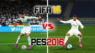 FIFA 16 vs. PES 16: Skill Moves