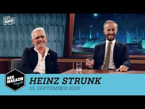 Heinz Strunk zu Gast im NEO MAGAZIN ROYALE mit Jan Böhmermann - ZDFneo