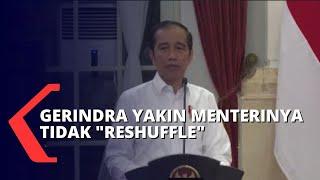Jokowi Ancam Reshuffle, Gerindra Yakin Menterinya Tidak Kena