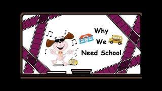 Видеоурок по английскому языку: Стихотворение Why We Need School