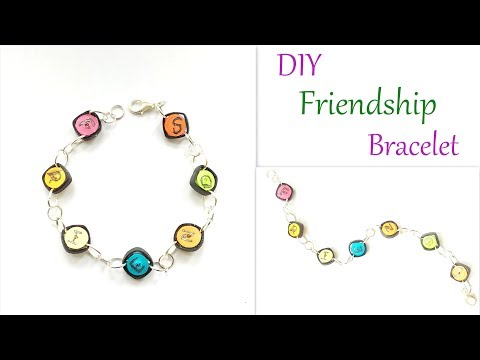 DIY Friendship Bracelet   How to make Friendship Band/ Paper Friendship Band