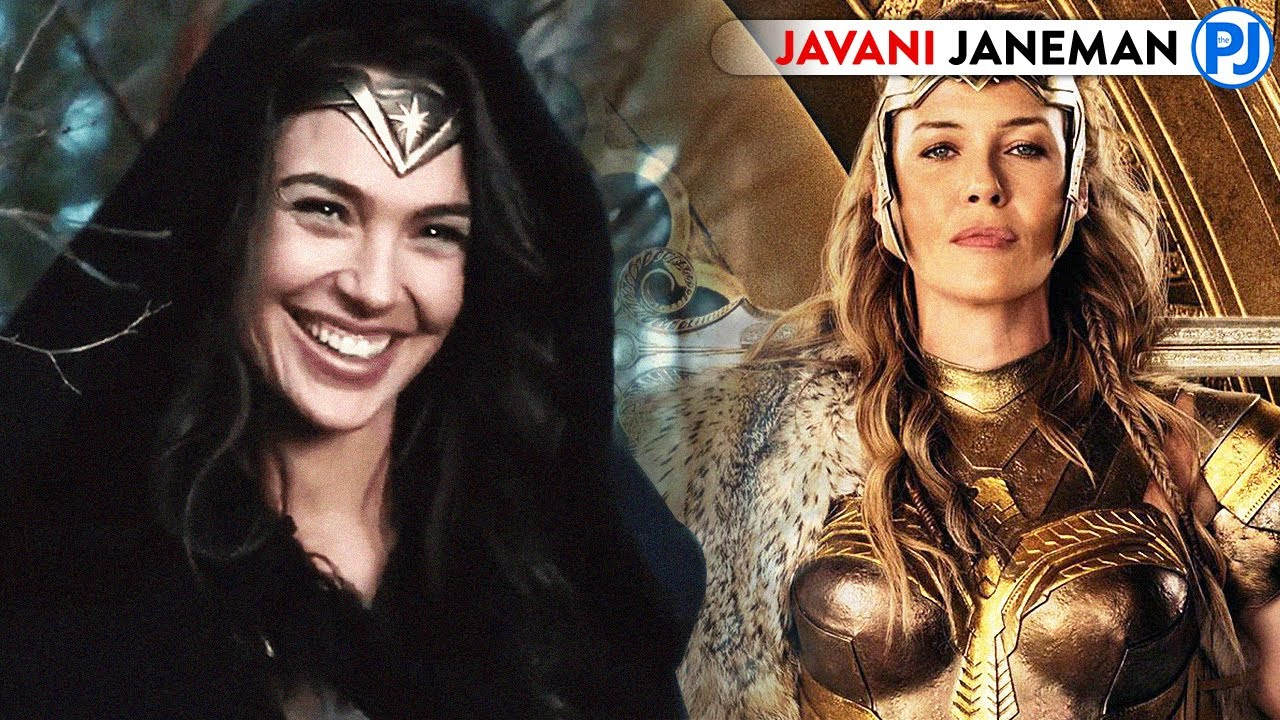 How Amazons Are HOT & Young Always? Wonder Woman - PJ Explained