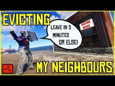 EVICTING My NEW Neighbours Before I RAID THEM!! - RUST (Ep 3) thumbnail