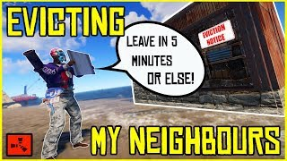 EVICTING My NEW Neighbours Before I RAID THEM!! - RUST (Ep 3)