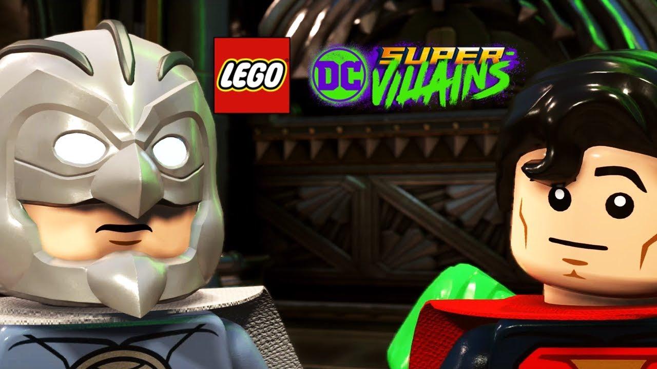 LEGO DC SUPER VILLAINS All Crime Syndicate Scenes (Justice ...