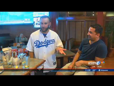 Local Dodger fan says he's loyal. His tattoo says otherwise
