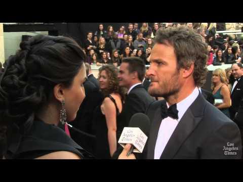 Jason Clarke on Oscars Red Carpet 2013