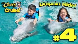 SWIMMING WITH DOLPHINS in MEXICO!!! 4K Disney Cruise Adventure PART 4