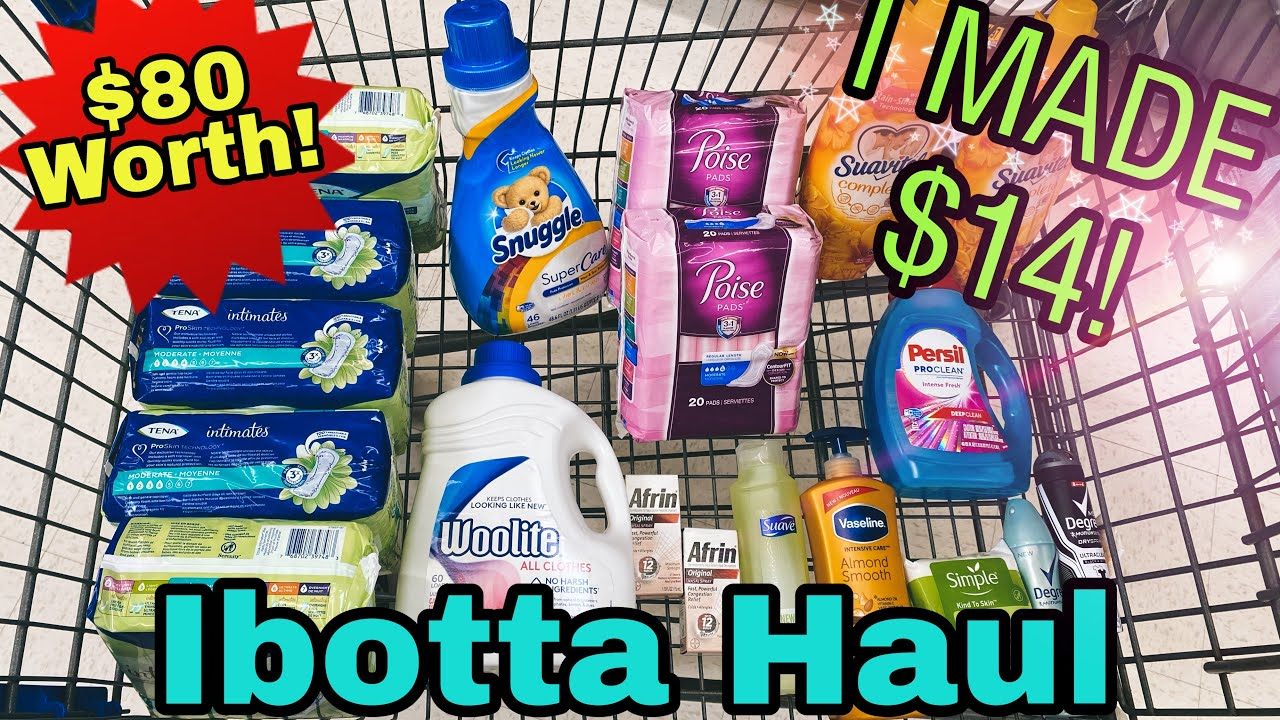 Walmart Ibotta Haul FREE+ $14 MM! - Mid Week Harvest Bonus