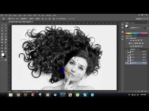 Change Hair Background by Alpha Channel: Bangla Tutorial