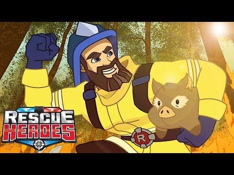 Rescue Heroes™ | Conoce Al Equipo | Serie Animada Para Niños | Fisher-Price