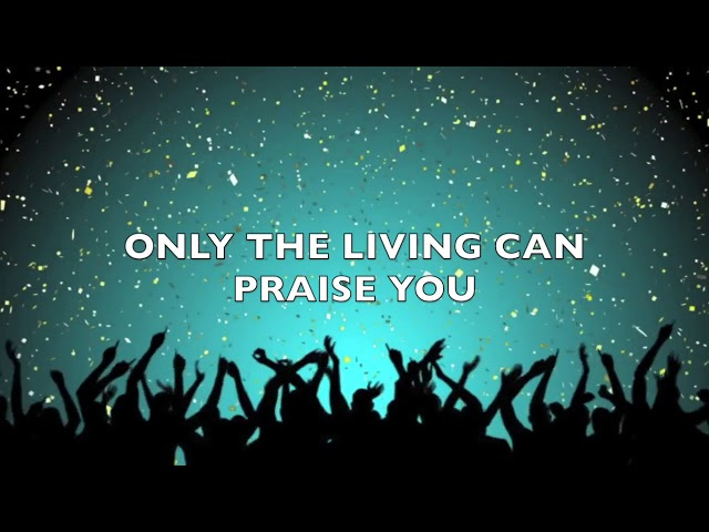 Victoria Orenze- ONLY THE LIVING   Lyric Video
