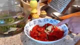 Салат  по- Сицилийски