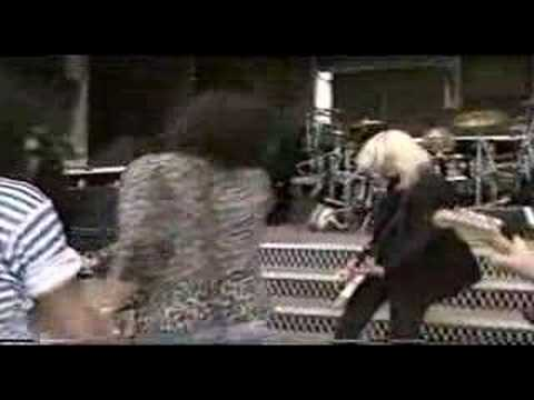 "Slash & Duff ""Train Kept A Rollin"" rehearse with Aerosmith"