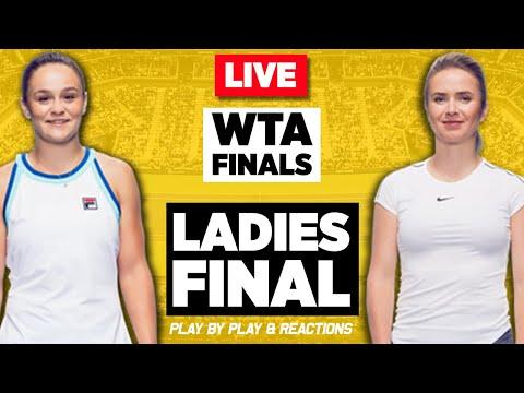 🔴 SVITOLINA vs BARTY | WTA Finals Shenzhen 2019 | LIVE Tennis Stream Play-by-Play