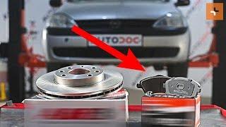 Cambiar Pastilla de freno delanteras y traseras OPEL CORSA C (F08, F68) - instrucciones en video