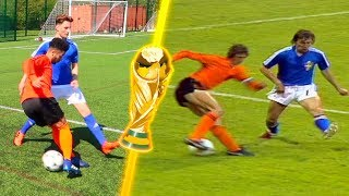Most iconic world cup moments! epic recreations 😱🔥🏆