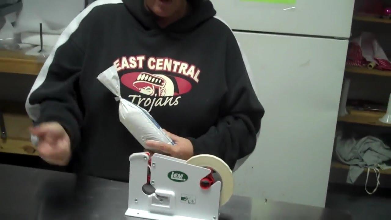 Plastic bag tape sealer - Plastic Bag Tape Sealer 12