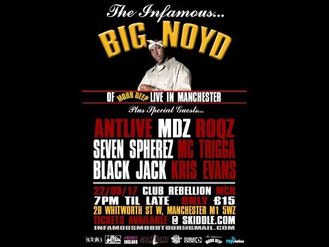 Big Noyd (Mobb Deep) Live in Manchester