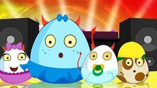 Dance Battle   Deviled Eggz Show   New Episode   Kids Cartoon   Egg Video   Show For Kids