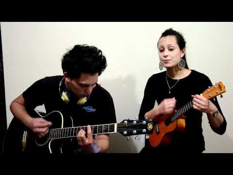 Siany & Liam - Ten Guitars (Engelbert Humperdinck) - Ukulele & Guitar cover