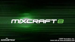 Acoustica Mixcraft 8 Recording Studio Intro