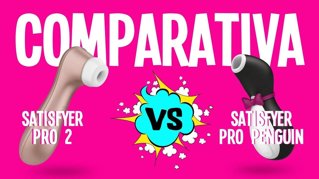Cuál Es El Mejor Succionador Comparativa Satisfyer Pro 2 Vs Pro Penguin Sexualizados As Youtube