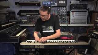 Synthé KING KORG : définitivement analogique par Olivier Briand (La Boite Noire)
