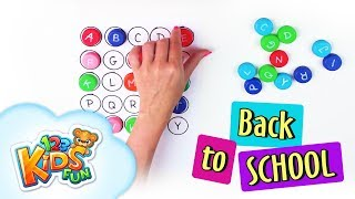 DIY by Creative Mom #8 back to school learn alphabet bottle top alphabet game for kids 123 Kids Fun