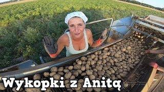 Kopanie Ziemniaków z Anitą ㋡ Moja Kuzynka Pomaga Nam w Wykopkach ☆ [Vlog # 29]