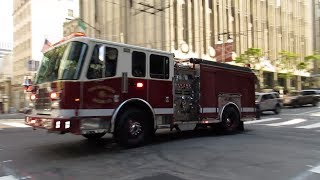 San Francisco Fire Department @ Post St & Mason St San Francisco California