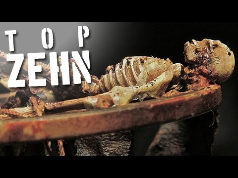 10 grausame mittelalterliche Foltermethodenиз YouTube · Длительность: 3 мин17 с