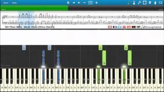 ♫ Yeh Fitoor Mera (Arijit Singh)    Piano Tutorial + Music Sheet + MIDI with Lyrics