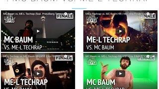 Finale MC Baum vs. Me-L Techrap Let's Watch VBT Elite 2016