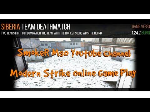 Modern Strike Online Game Play Siberia Map