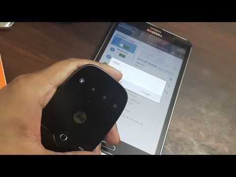 Where to find the Jiofi MIFI device password?