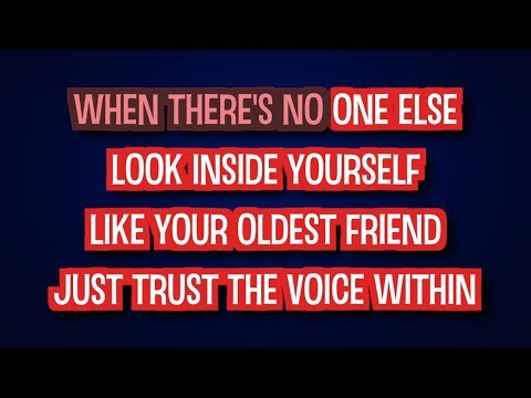 The Voice Within - Christina Aguilera | Karaoke LYRICS