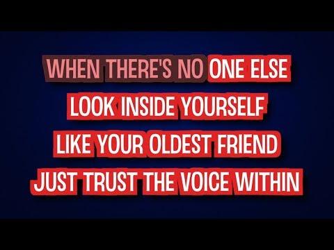 The Voice Within - Christina Aguilera | Karaoke LYRICS